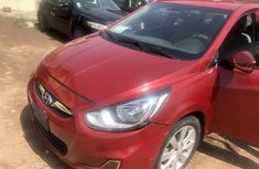 Nigeria Used Hyundai Accent 2012 Model Red
