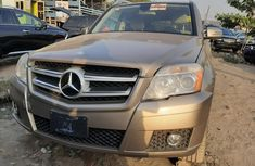 Foreign Used Mercedes-Benz GLK 2010 Model Gold