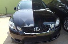 Foreign Used Lexus GS 2006 Model Black