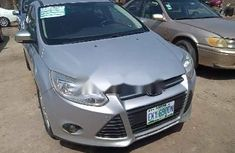 Foreign Used Ford Focus 2014 Model Silver