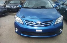 Foreign Used Corolla 2009 Model Blue
