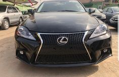 Foriegn Used Lexus IS250 2007 Model Black for Sale