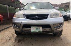 Nigeria Used Acura MDX 2002 Model Silver