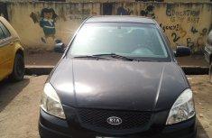 Nigeria Used Kia Rio 2006 Model Black for Sale