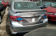 Foreign Used Toyota Corrolla 2013 Model Silver for Sale