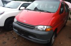 Foreign Used Toyota HiAce 2002 Model 2002 Red