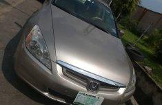 Nigeria Used Honda Accord 2005 Model Gold