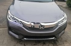 Foreign Used Honda Accord 2016 Model Gray