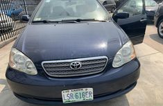 Nigeria Used Toyota Corolla 2005 Model Blue