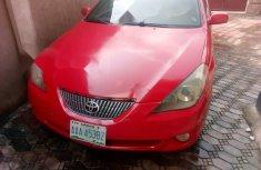 Nigeria Used Toyota Solara 2005 Model Red