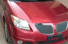 Foreign Used Pontiac Vibe 2009 Model Red