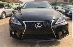 Foreign Used Lexus IS 2007 Model Black