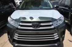 Foreign Used Toyota Highlander 2019 Model Green