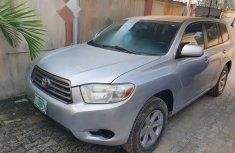 Nigeria Used Toyota Highlander 2008 Model Silver