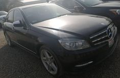 Tokunbo Mercedes-Benz C350 2009 Model Black