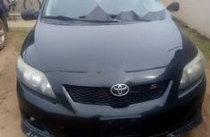 Foreign Used Toyota Corolla 2011 Model Black
