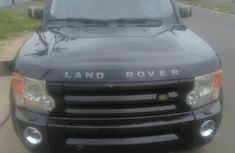 Foreign Used Land Rover LR3 2008 Model Black