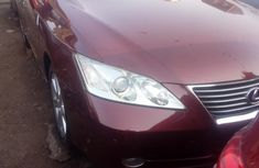 Foreign Used Lexus ES 2009 Model Red