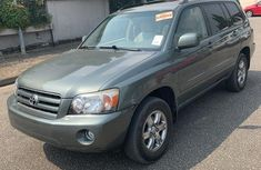 Tokunbo Toyota Highlander 2006 Model Green