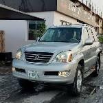 Nigeria Used Lexus GX 2004 Model Silver