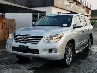 Foreign Used Lexus LX 2010 Model Silver
