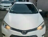 Nigeria Used Toyota Corolla 2014 Model White