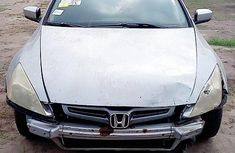 Foreign Used Honda Accord 2005 Model Silver