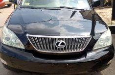 Nigeria Used Lexus RX330 2006 Model Black for Sale