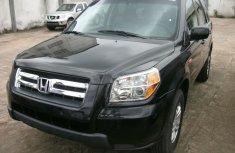 Nigeria Used Honda Pilot V6 2005 Model Black for Sale