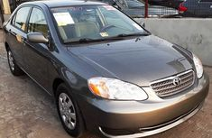 Foreign Used Toyota Corolla LE 2006 Model Gray for Sale