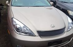 Foreign Used Lexus ES 330 2005 Model Gold for Sale
