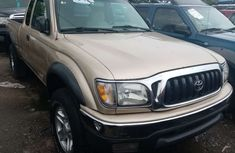 Foreign Used Toyota Tacoma 2003 Model Gold for Sale