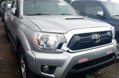 Foreign Used Toyota Tacoma 2013 Model Silver for Sale