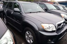 Foreign Used Toyota 4Runner 2008 Model Gray for Sale