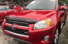 Foreign Used Toyota RAV4 2009 Model Red for Sale