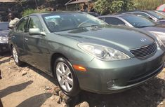 Foreign Used Lexus ES 330 2006 Model Green for Sale