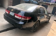 Nigeria Used Honda Accord EOD V6 2003 Model Black for Sale