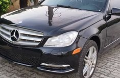 Nigeria Used Mercedes Benz C300 4matic 2010 Model Black