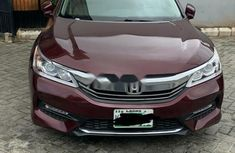 Nigeria Used Honda Accord 2016 Model Red