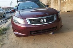 Nigeria Used Honda Accord 2009 Model Red