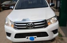 Foreign Used Toyota Hilux 2017 Model White