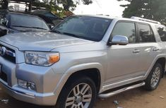 Nigeria Used Toyota 4-Runner 2010 Model Silver