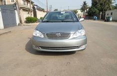 Foreign Used Toyota Corolla 2003 Model Green