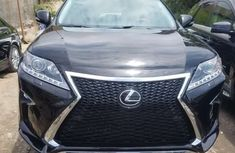 Foreign Used Lexus RX 350 2013 Model Black for Sale
