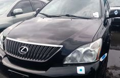 Foreign Used Lexus RX 350 2008 Model Black for Sale