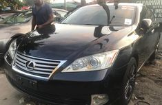 Foreign Used Lexus ES 350 2010 Model Black for Sale