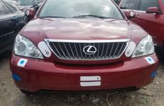 Foreign Used Lexus RX 350 2008 Model Red for Sale