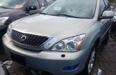 Foreign Used Lexus RX 350 2008 Model Silver for Sale