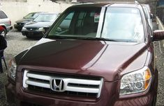 Foreign Used Honda Pilot 2008 Model Red for Sale