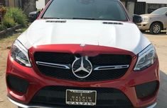 Foreign Used Mercedes-Benz GLE 2017 Model Red